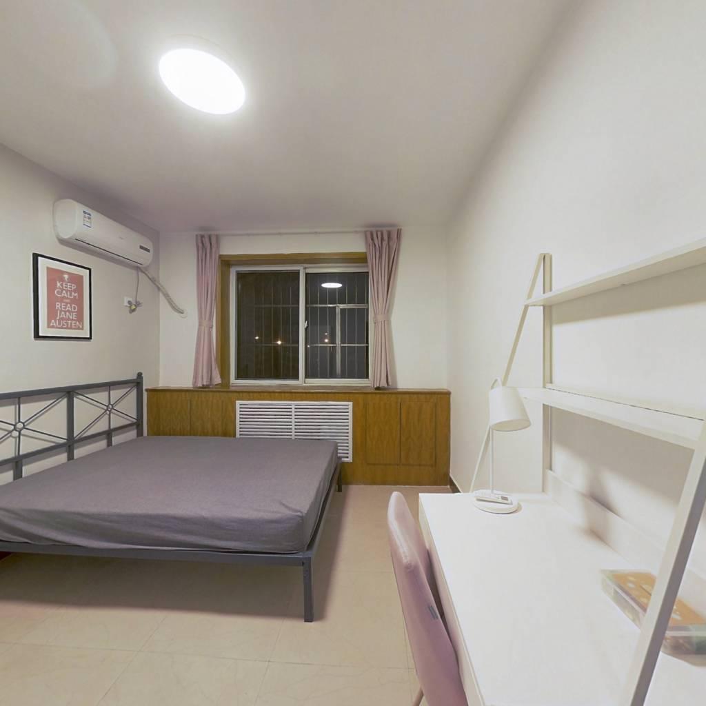 合租·程华里 3室1厅 北卧室图