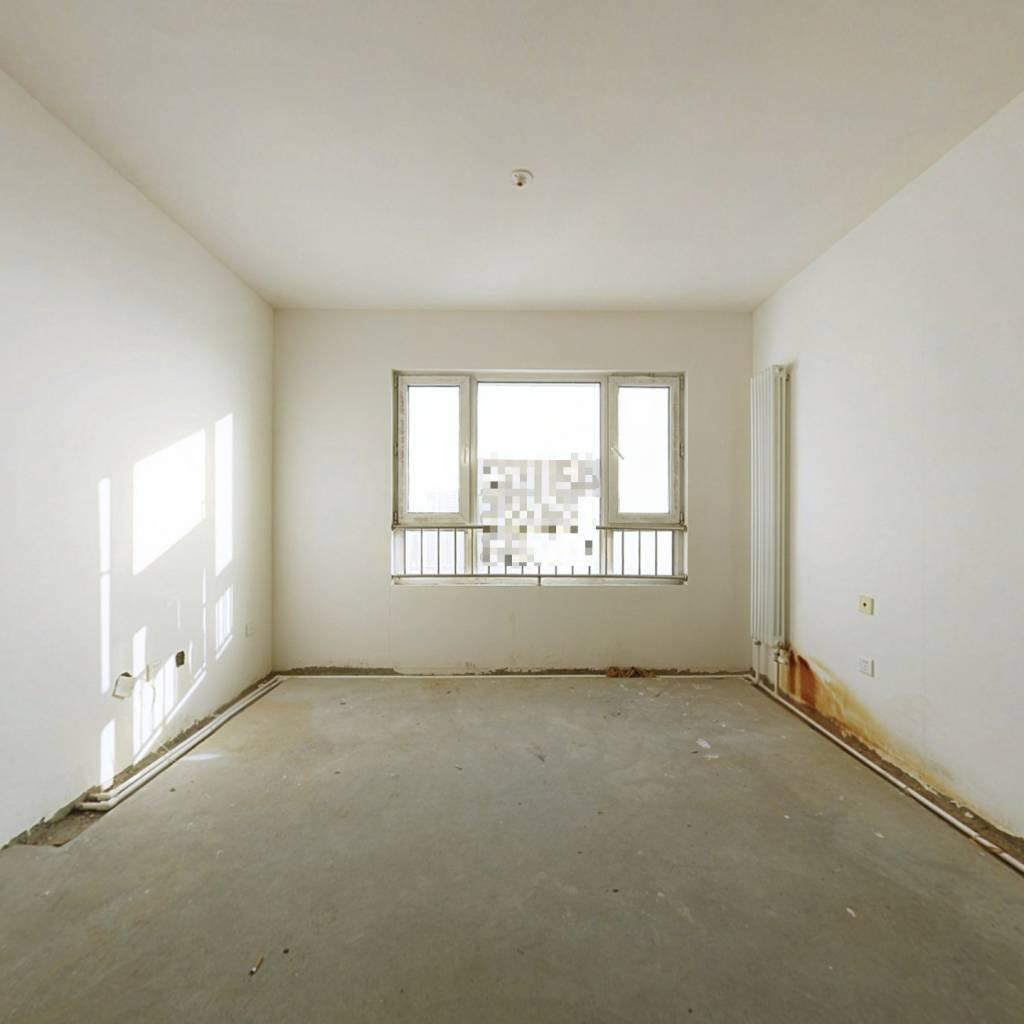 富力城两室通透户型,好楼层,毛坯,支持贷款,