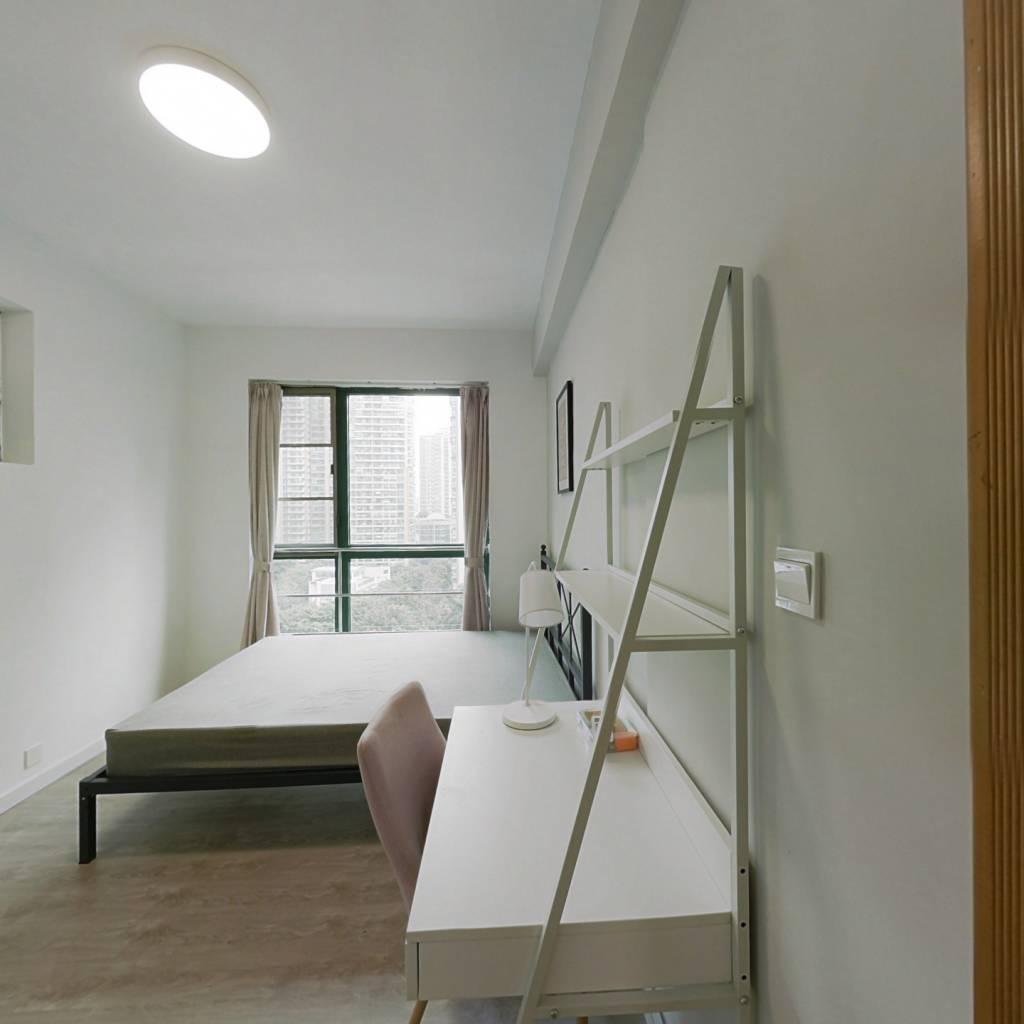 合租·金海花园 3室1厅 北卧室图