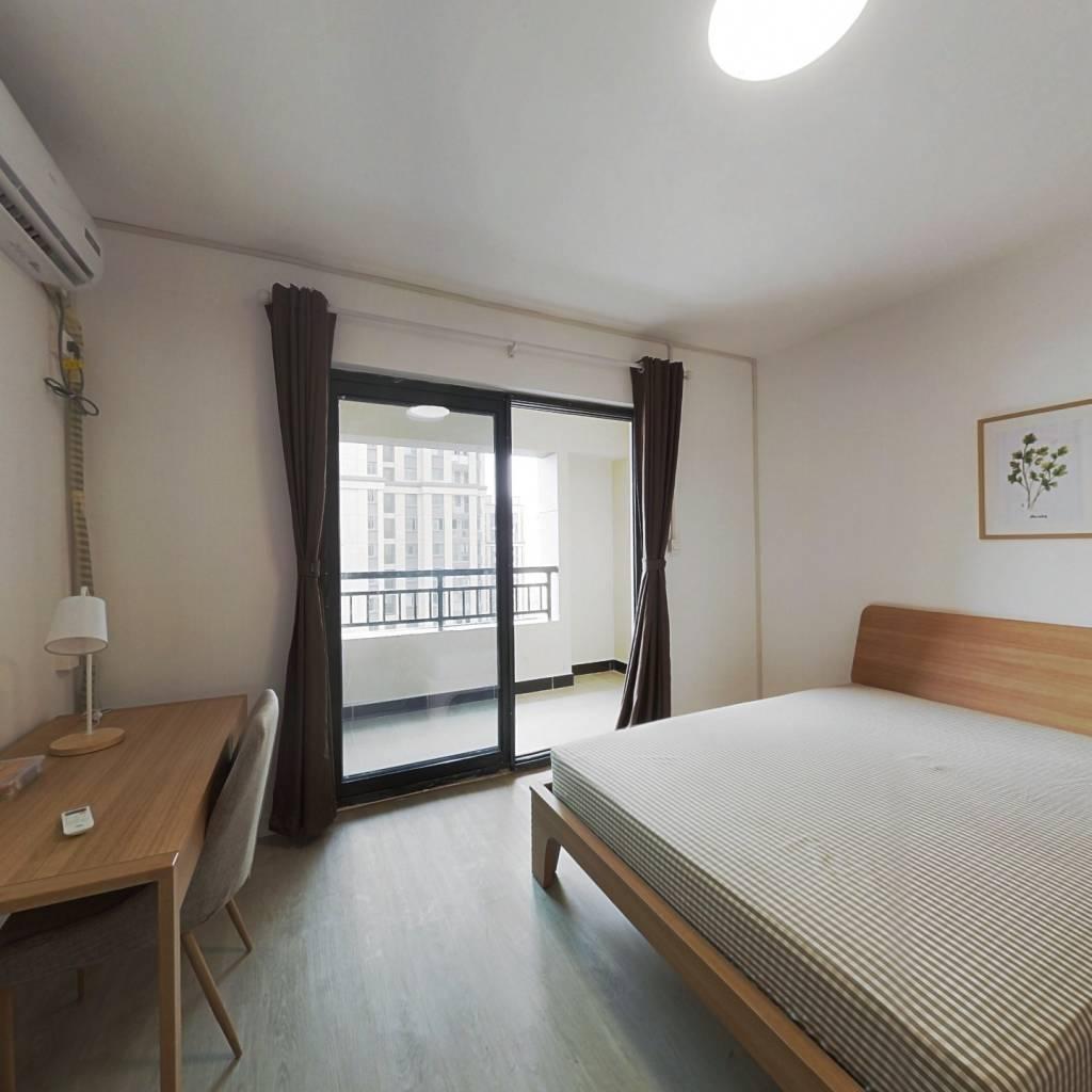 合租·统建新干线 4室1厅 北卧室图