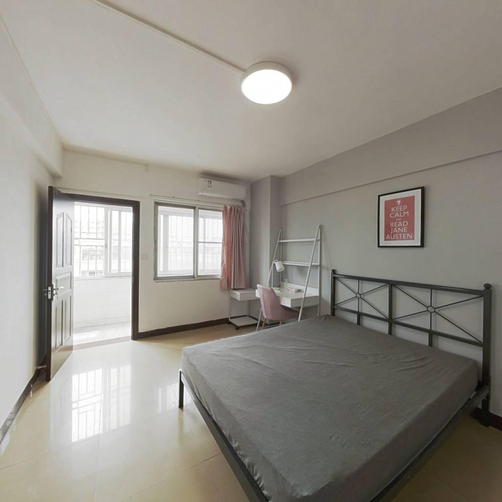 合租·聚德花园 3室1厅 南卧室图