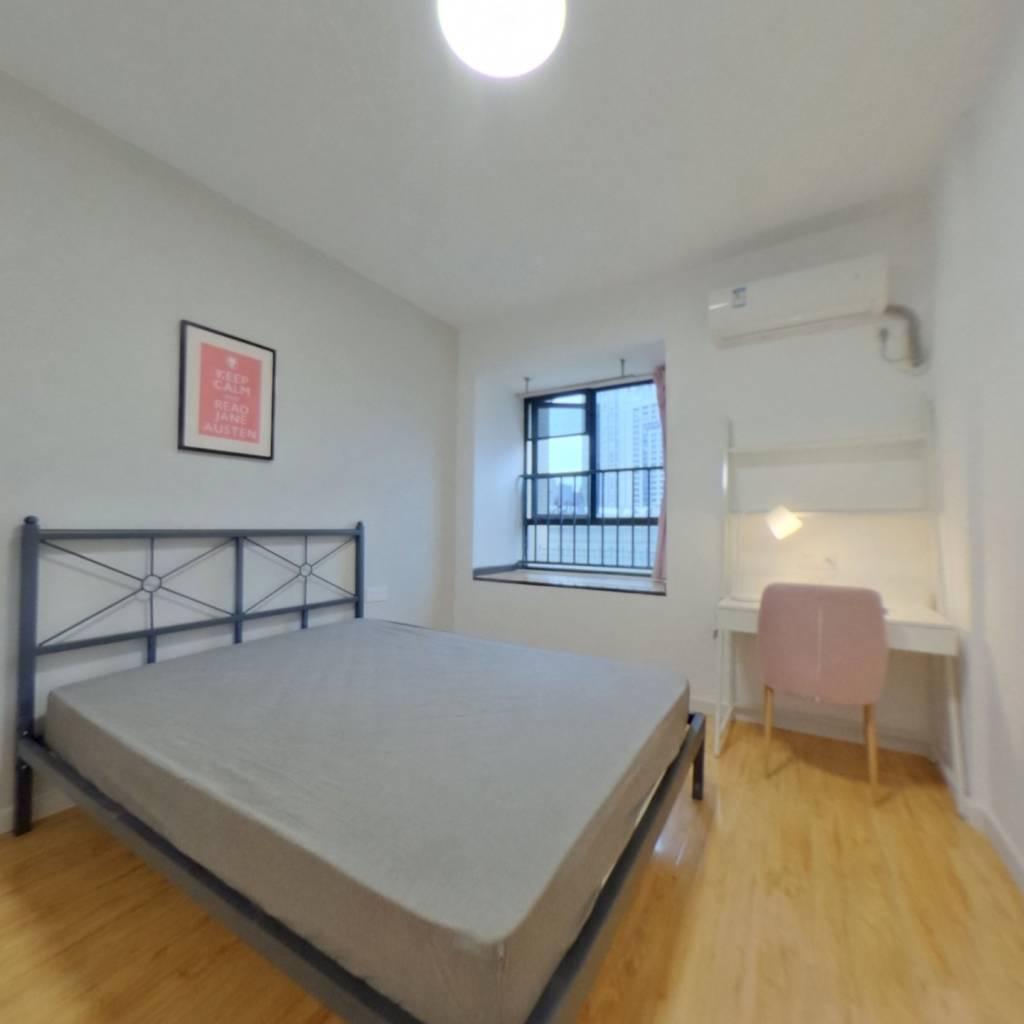 合租·王家湾中央生活区 4室1厅 南卧室图