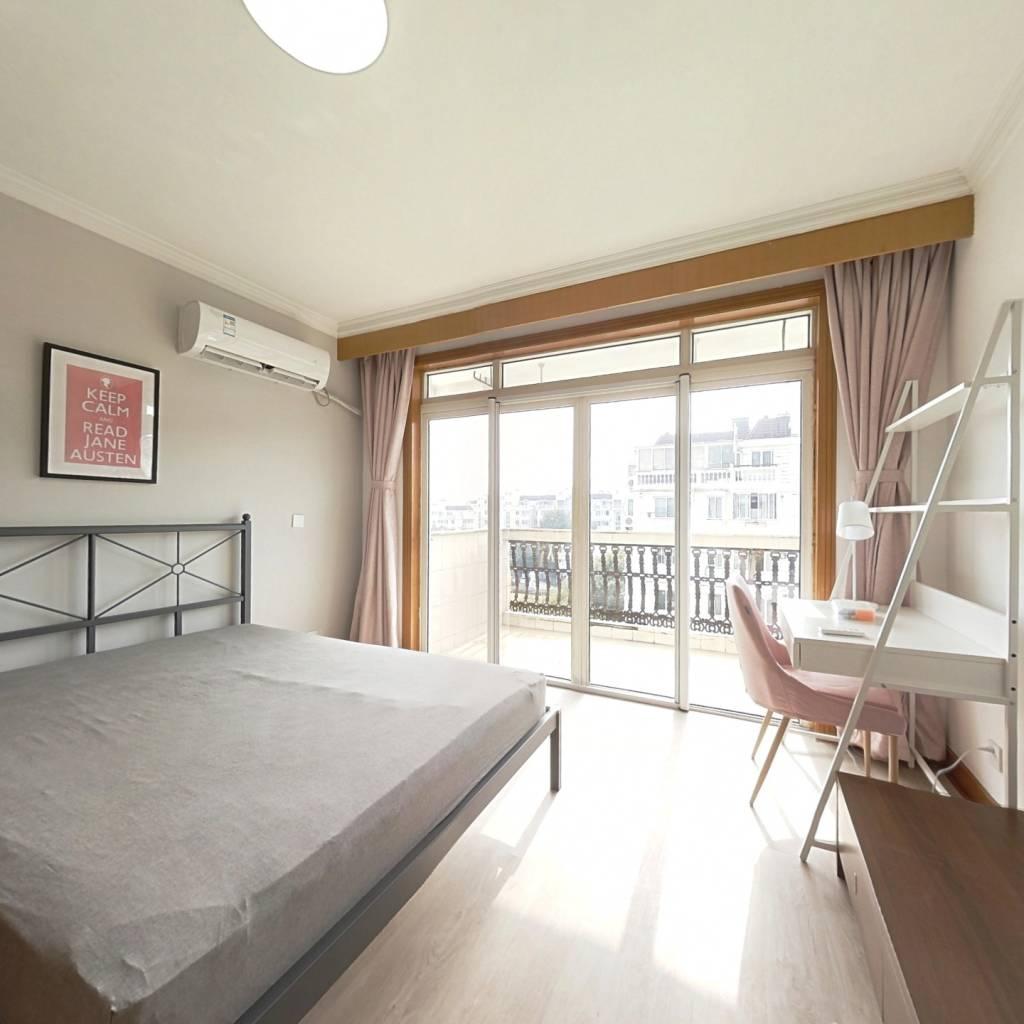 合租·明丰公寓 4室1厅 南卧室图