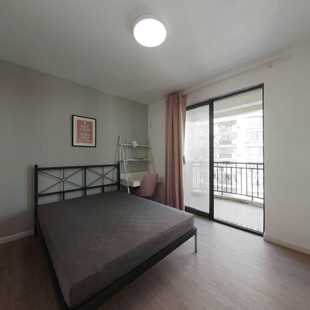 合租·明发滨江新城大三期 3室1厅 南卧室图