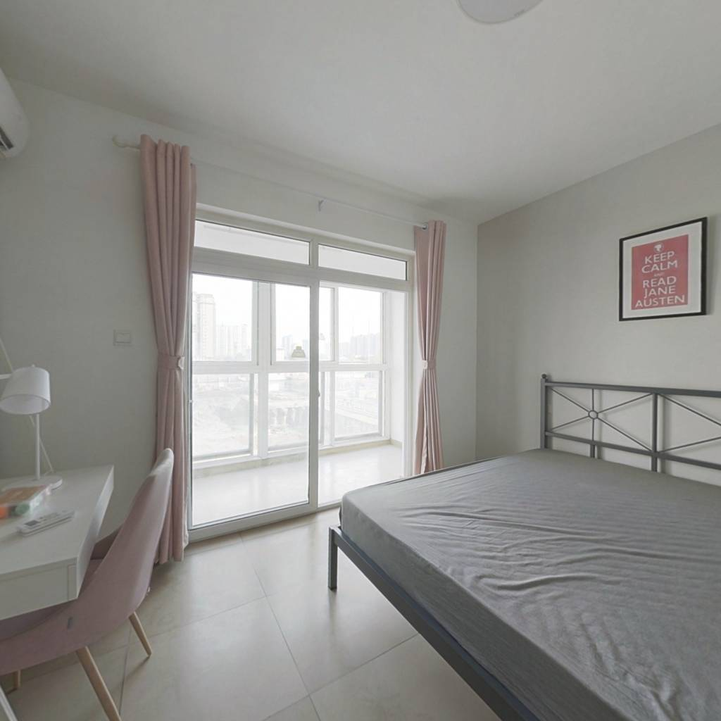 合租·沙河路苑 4室1厅 北卧室图