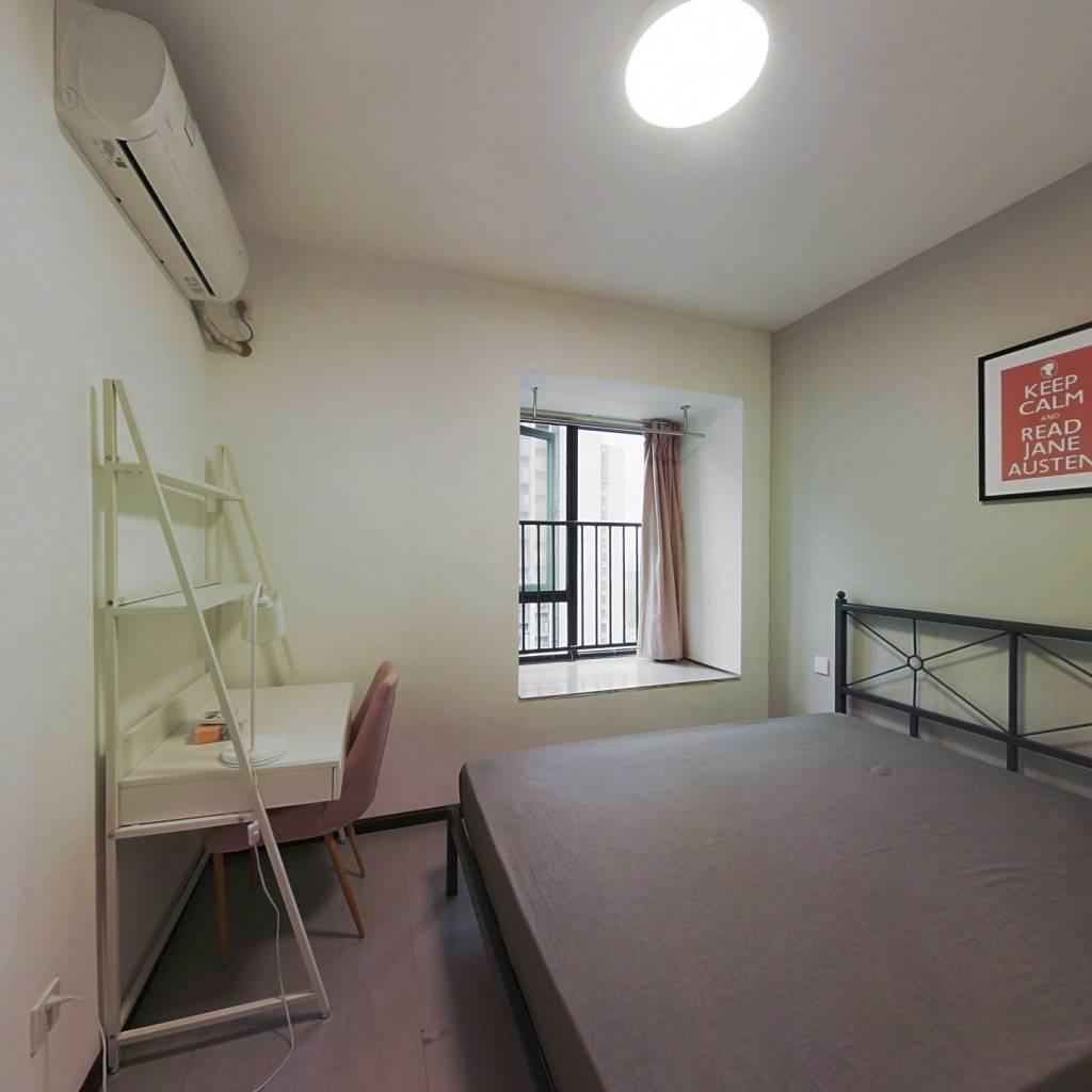 合租·龙湖金楠天街 3室1厅 北卧室图