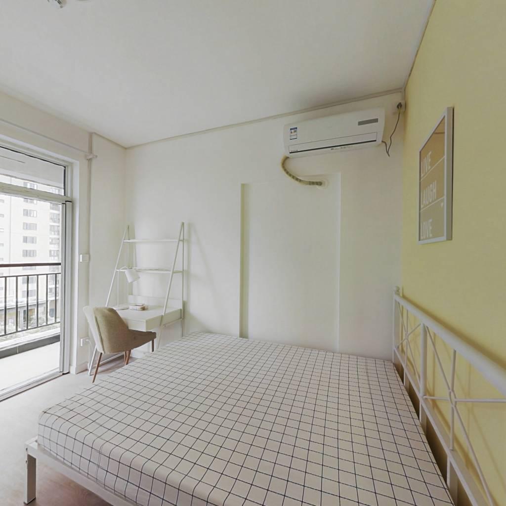合租·银泰御华园三期 3室1厅 南卧室图