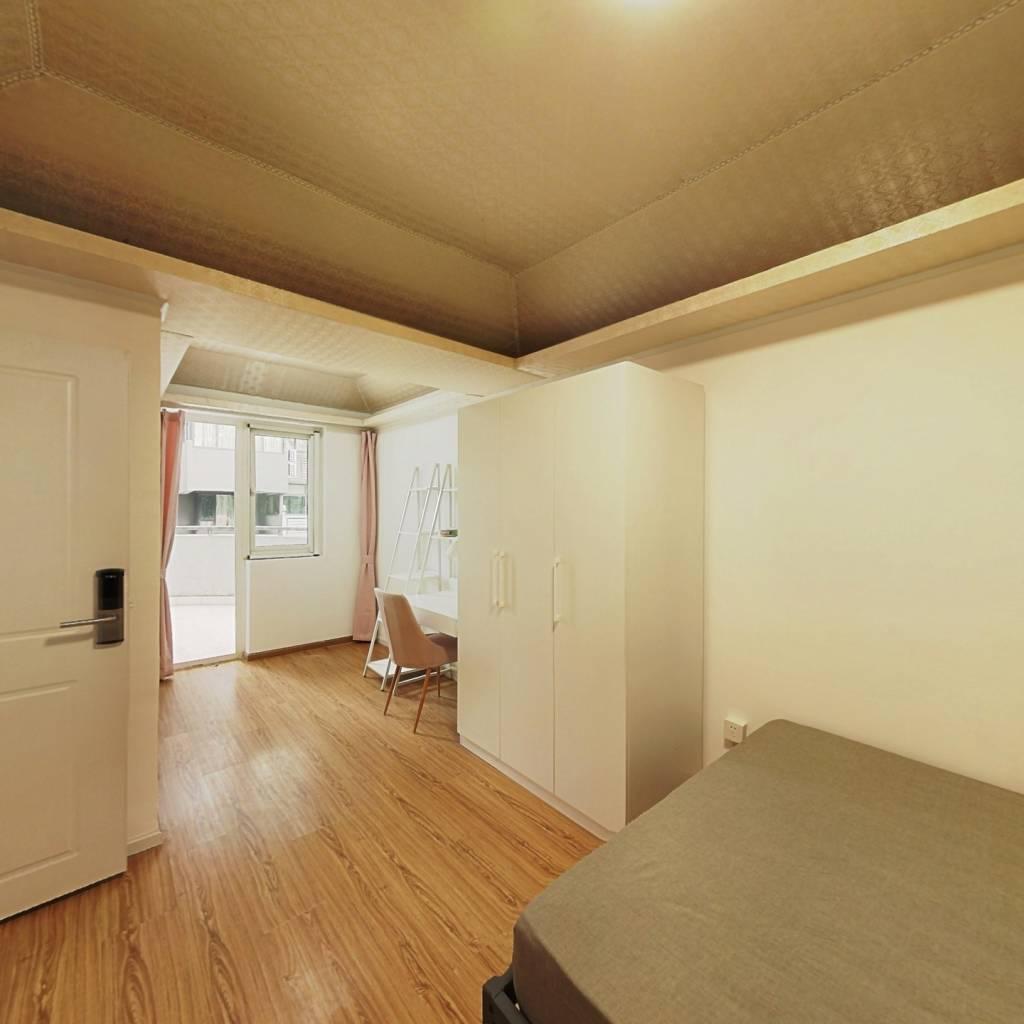 合租·蓝光凯丽香江 4室1厅 西北卧室图