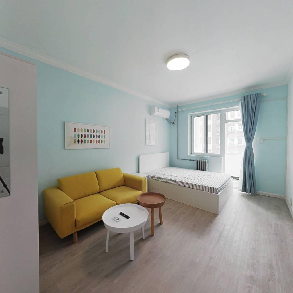 整租·定安西里 2室1厅 南北卧室图