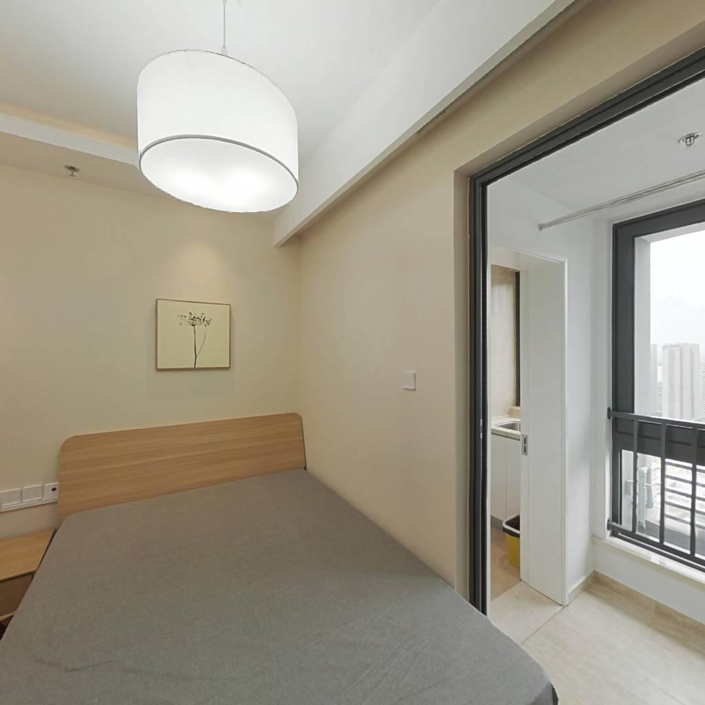 整租·证大大拇指广场 1室1厅 东西卧室图