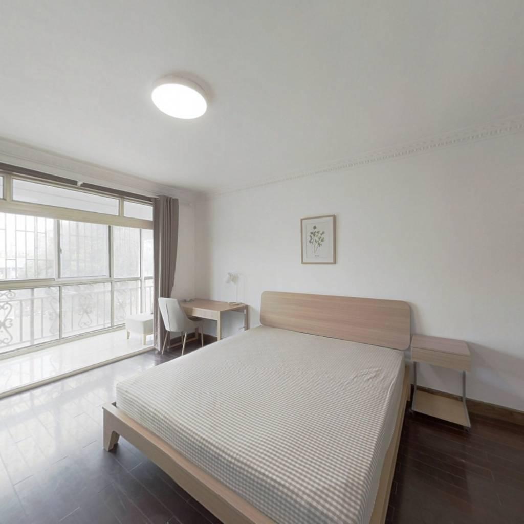 合租·国权北路351弄 3室1厅 南卧室图