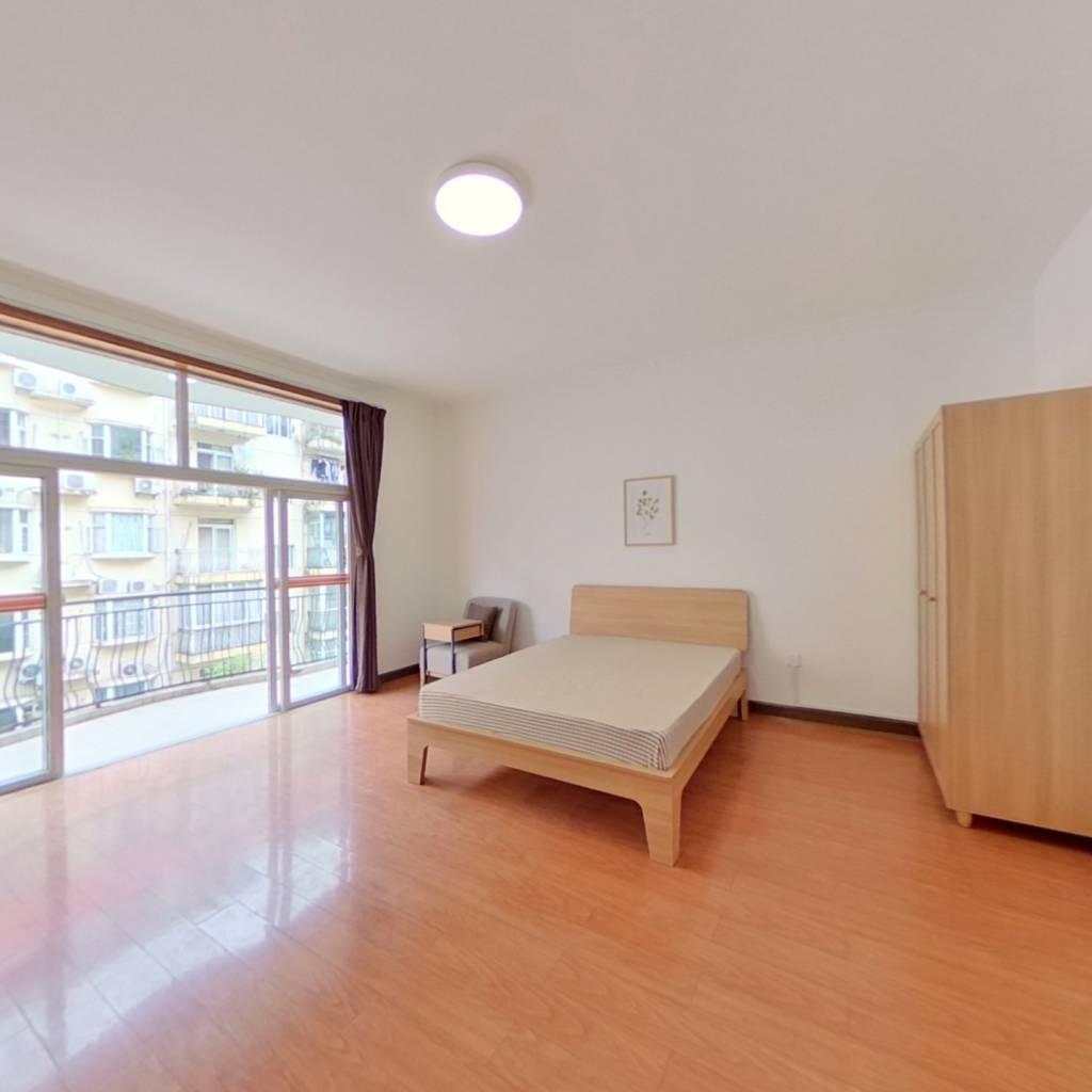 合租·紫荆名园 5室1厅 南卧室图
