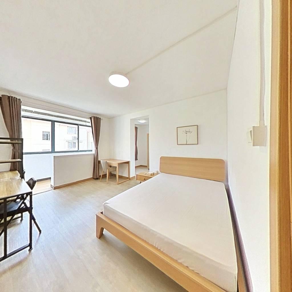整租·永和二村 1室1厅 南卧室图