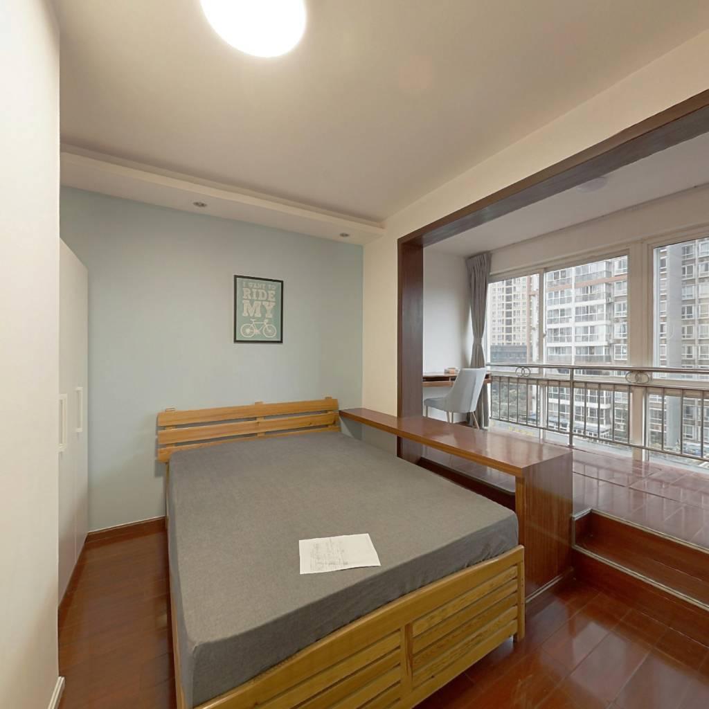 合租·上东锦城A区 3室1厅 北卧室图