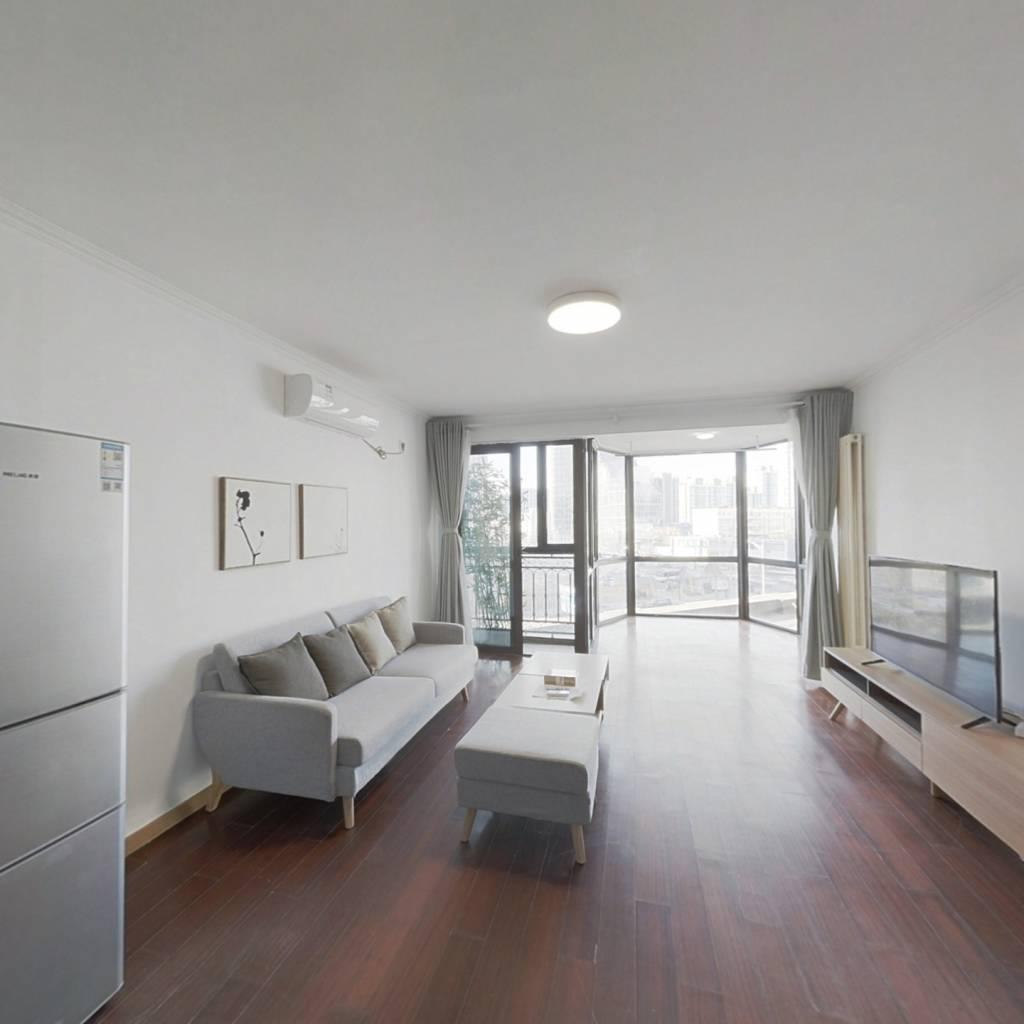 整租·珠江帝景 2室2厅 西南卧室图