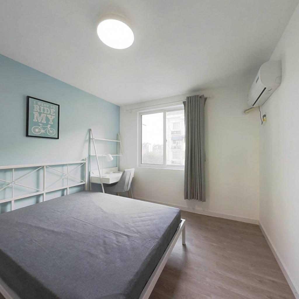 合租·富丽山庄 4室1厅 北卧室图