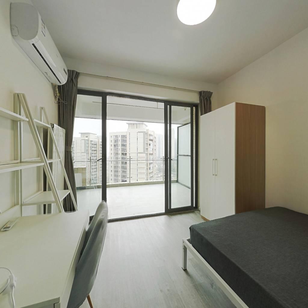 合租·恒大天府半岛 4室1厅 西卧室图