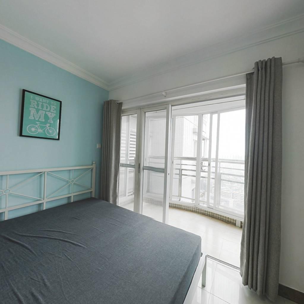 合租·翠城花园 3室1厅 西卧室图