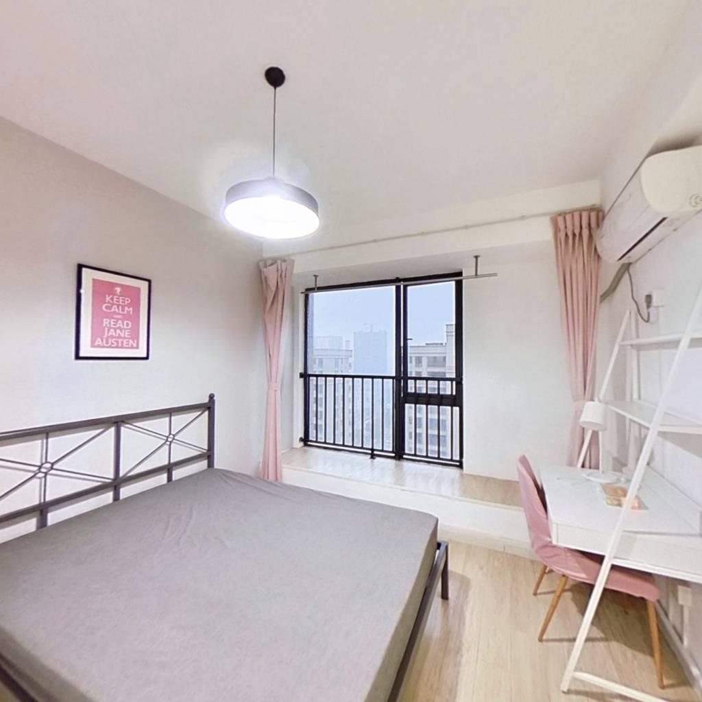 合租·钱塘玫瑰湾 4室1厅 北卧室图