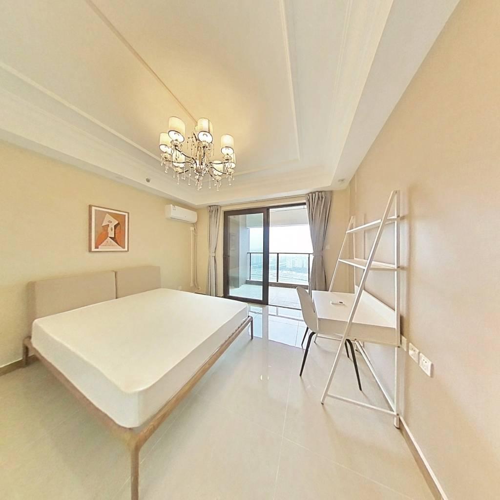 合租·恒大天府半岛4期 4室1厅 东南卧室图