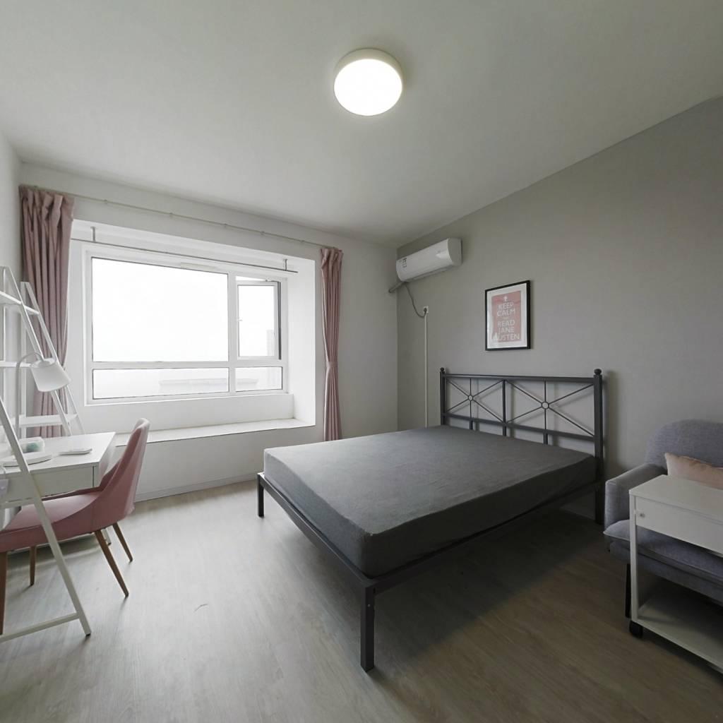 合租·理想康城国际 4室1厅 北卧室图