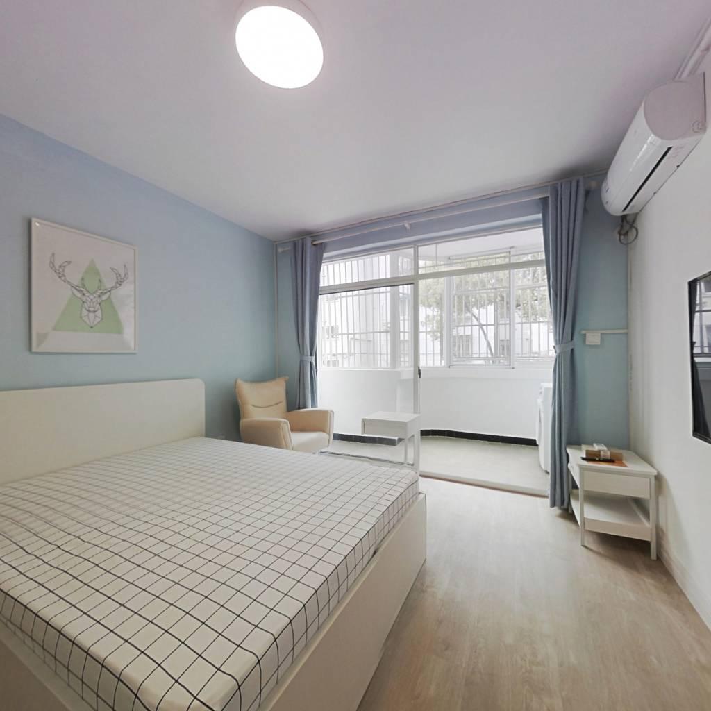 整租·海上新村 1室1厅 南卧室图