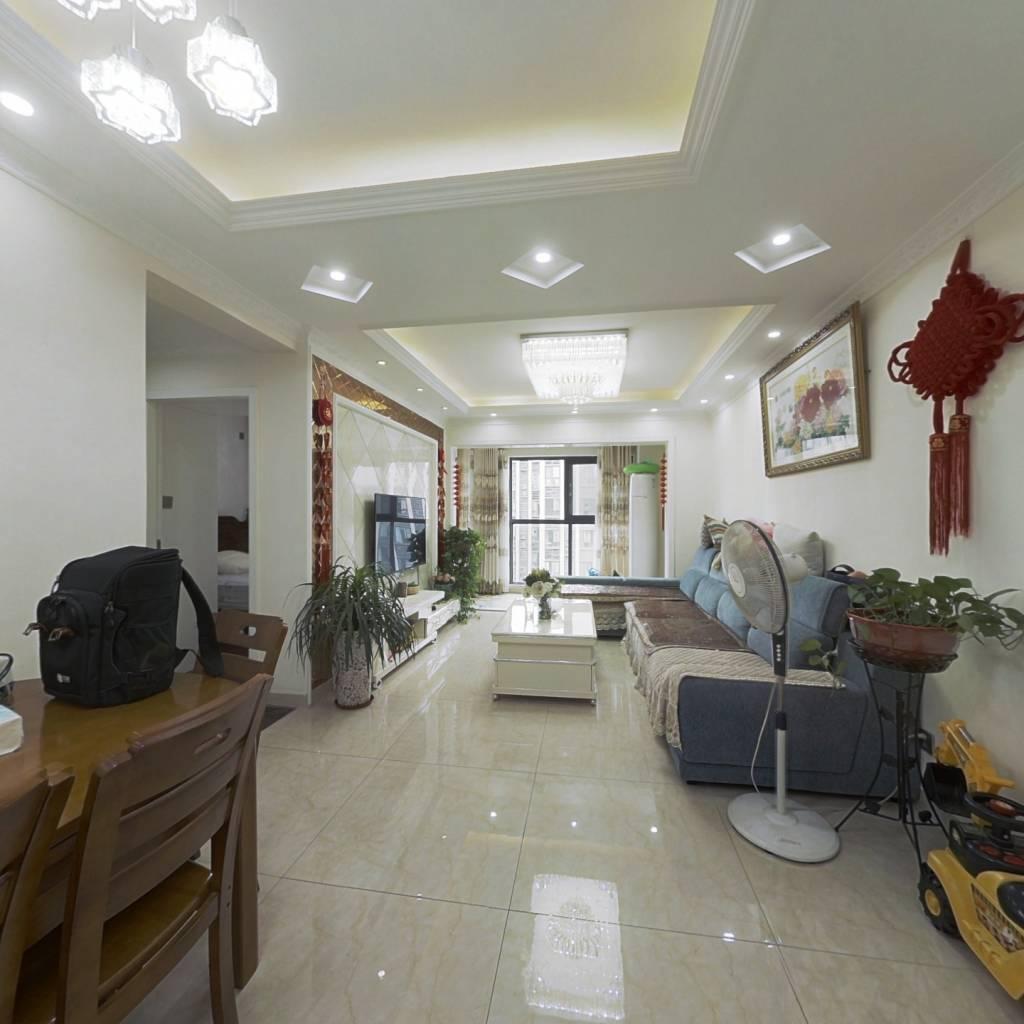 方正套三,居家自住装修,带大阳台,使用面积超高诚售