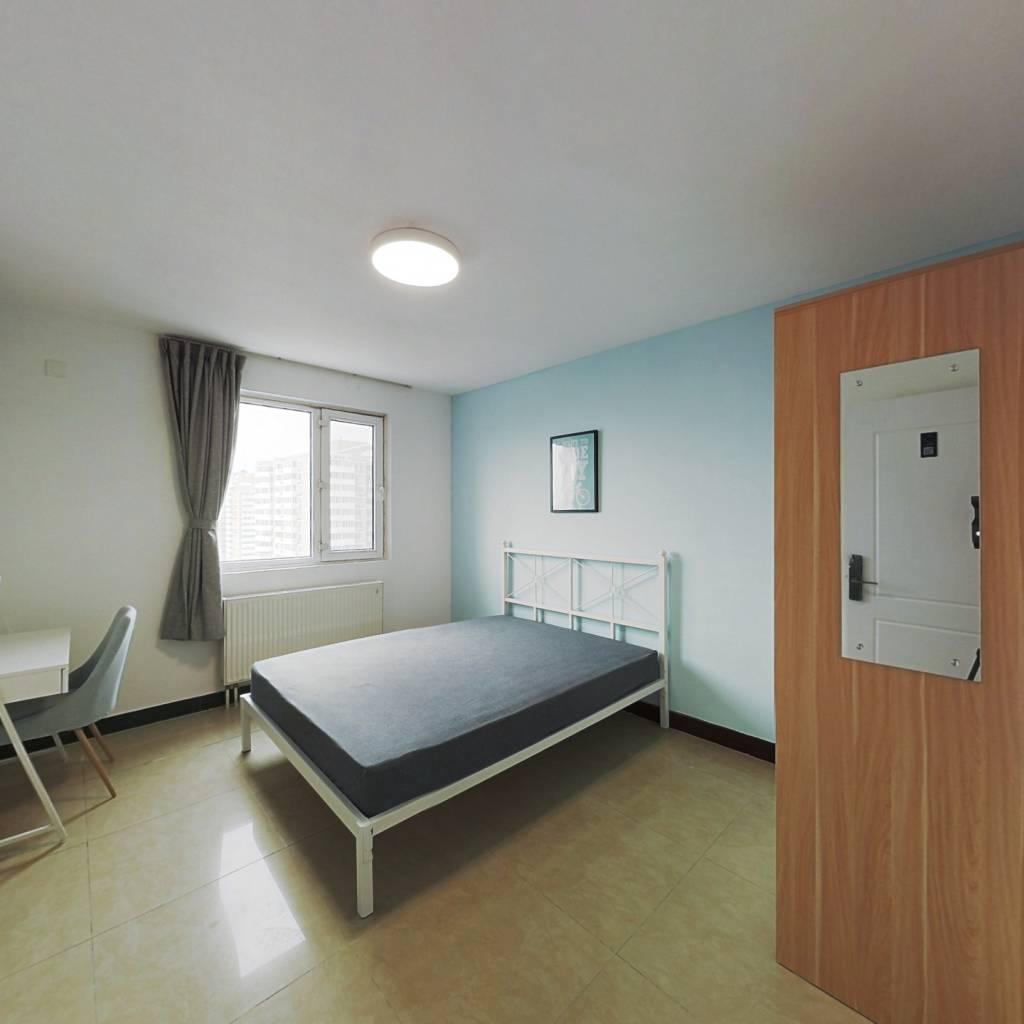 合租·朝阳雅筑 3室1厅 北卧室图