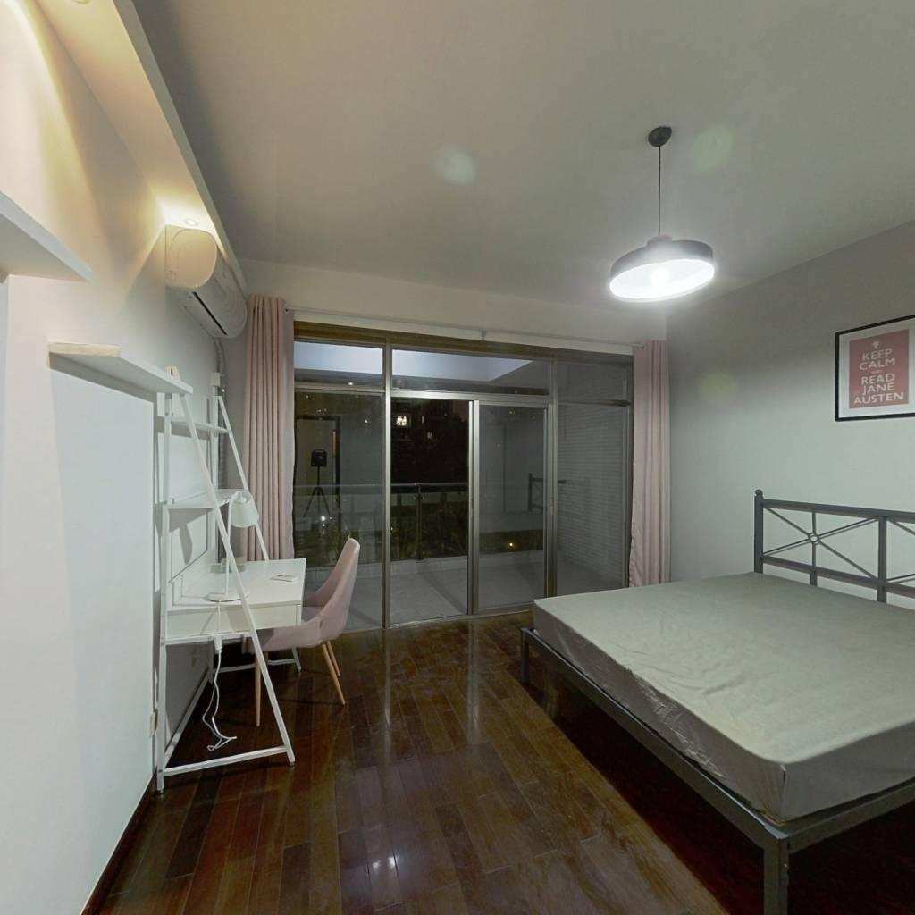 合租·翡翠城一期 3室1厅 东南卧室图