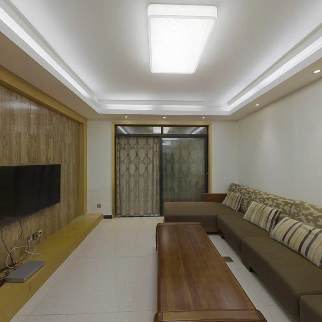 精装两房小高层,地铁口,实木家具,适合居住