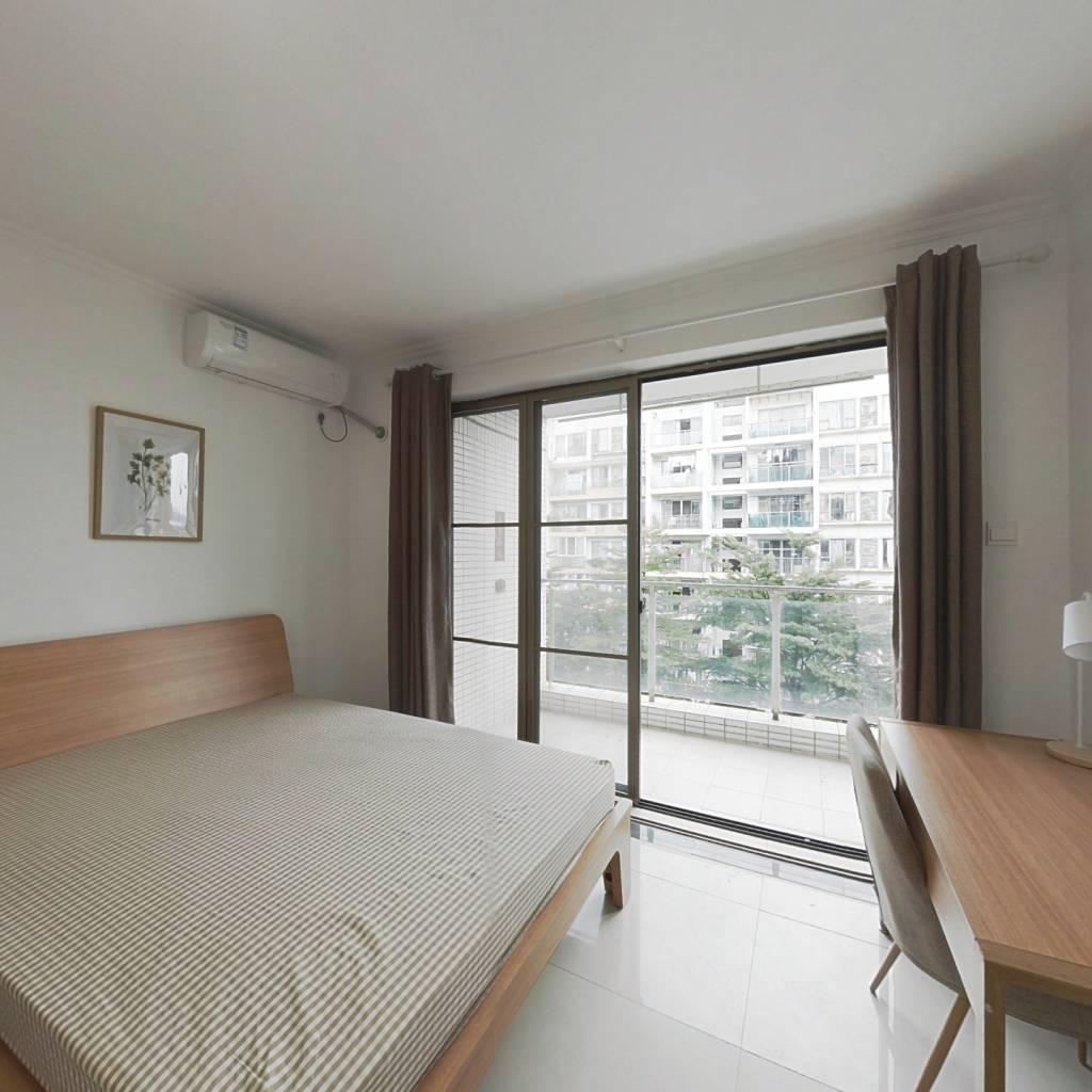 合租·中海康城 4室1厅 北卧室图