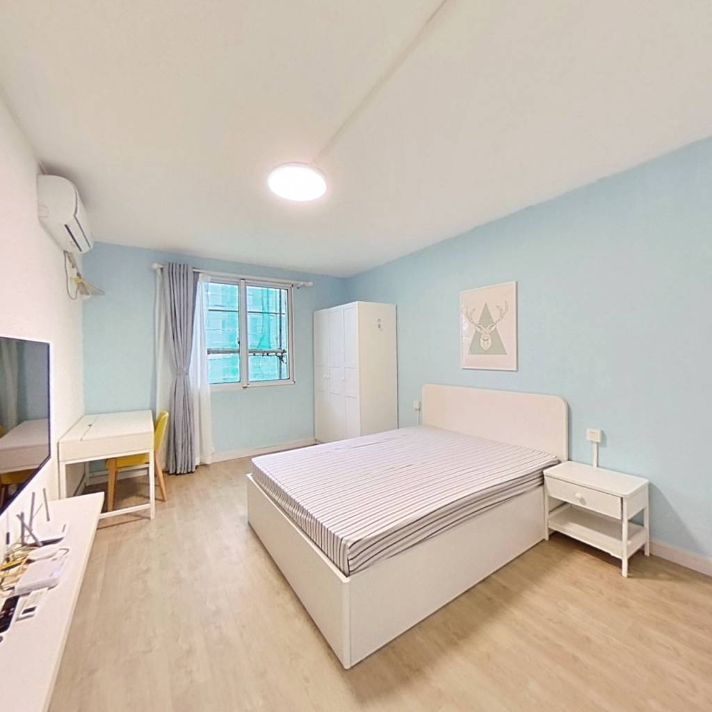 整租·翠苑三区 2室1厅 南卧室图