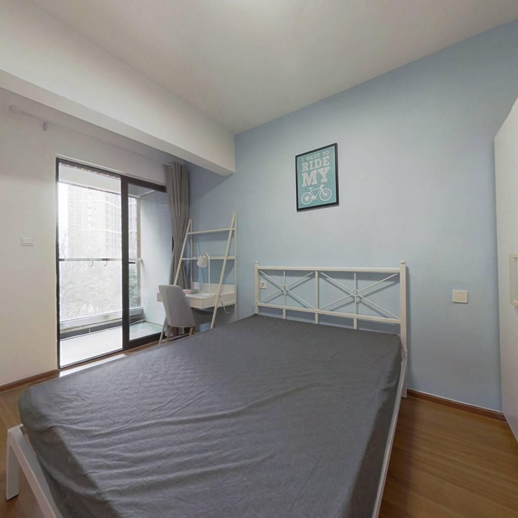 合租·中德英伦联邦B区 4室1厅 南卧室图