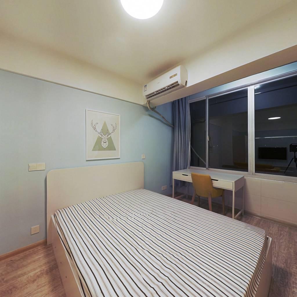 整租·长乐路 1室1厅 南卧室图