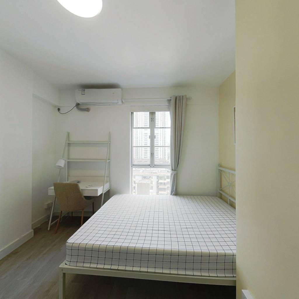 合租·东方之珠花园 4室1厅 北卧室图