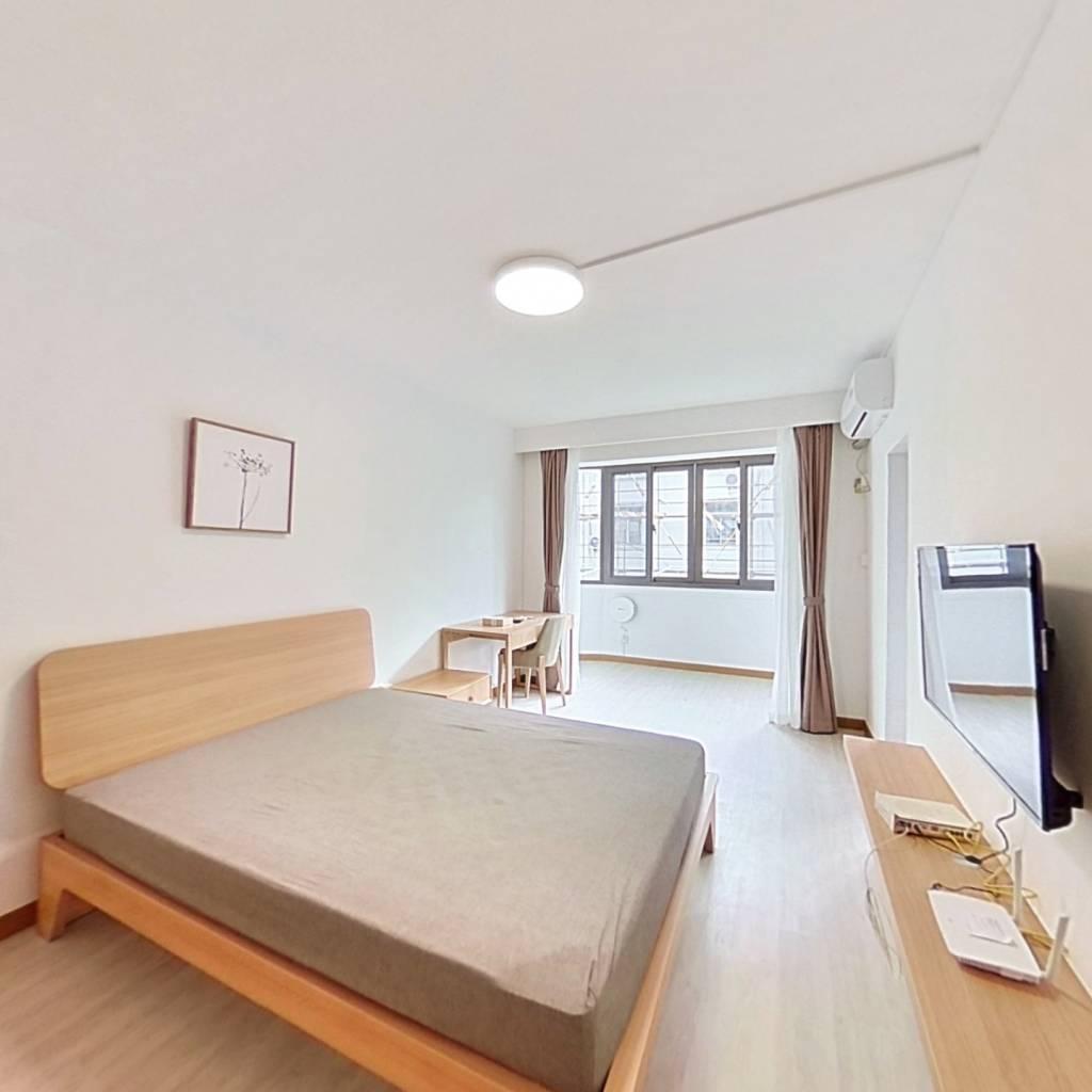 整租·新中新村 1室1厅 南卧室图