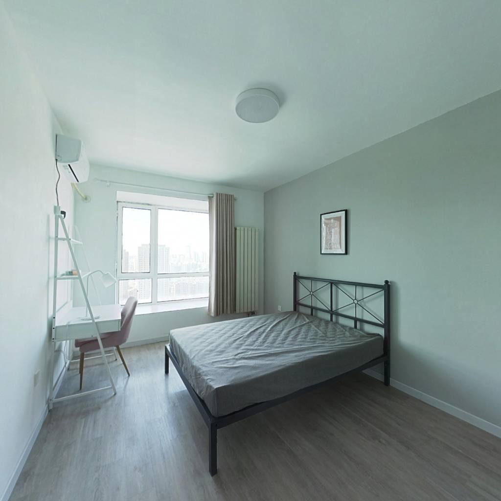合租·尚东雅园 3室1厅 北卧室图