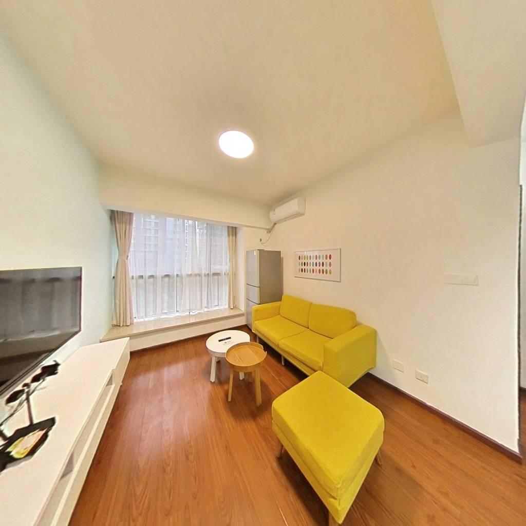 整租·国嘉新视界 1室1厅 东南卧室图