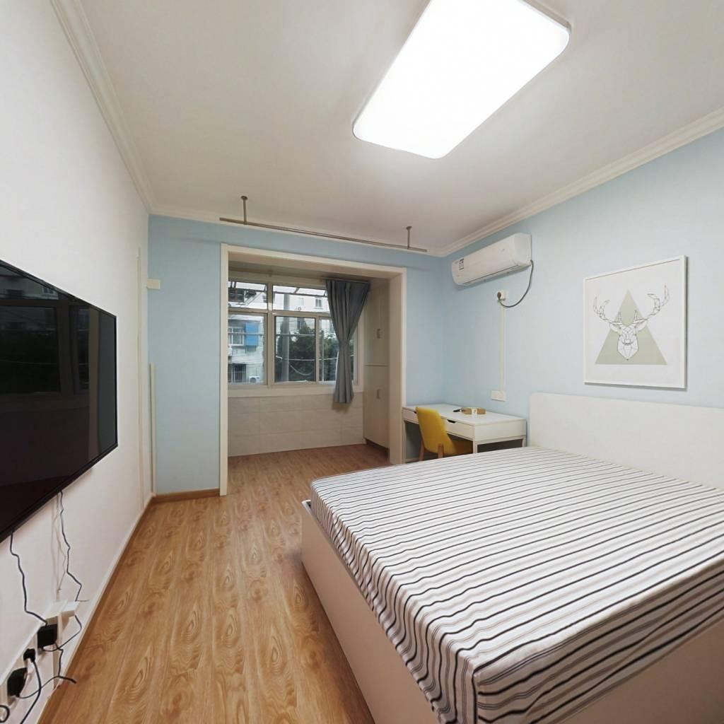 整租·场门口小区14号 2室1厅 南北卧室图