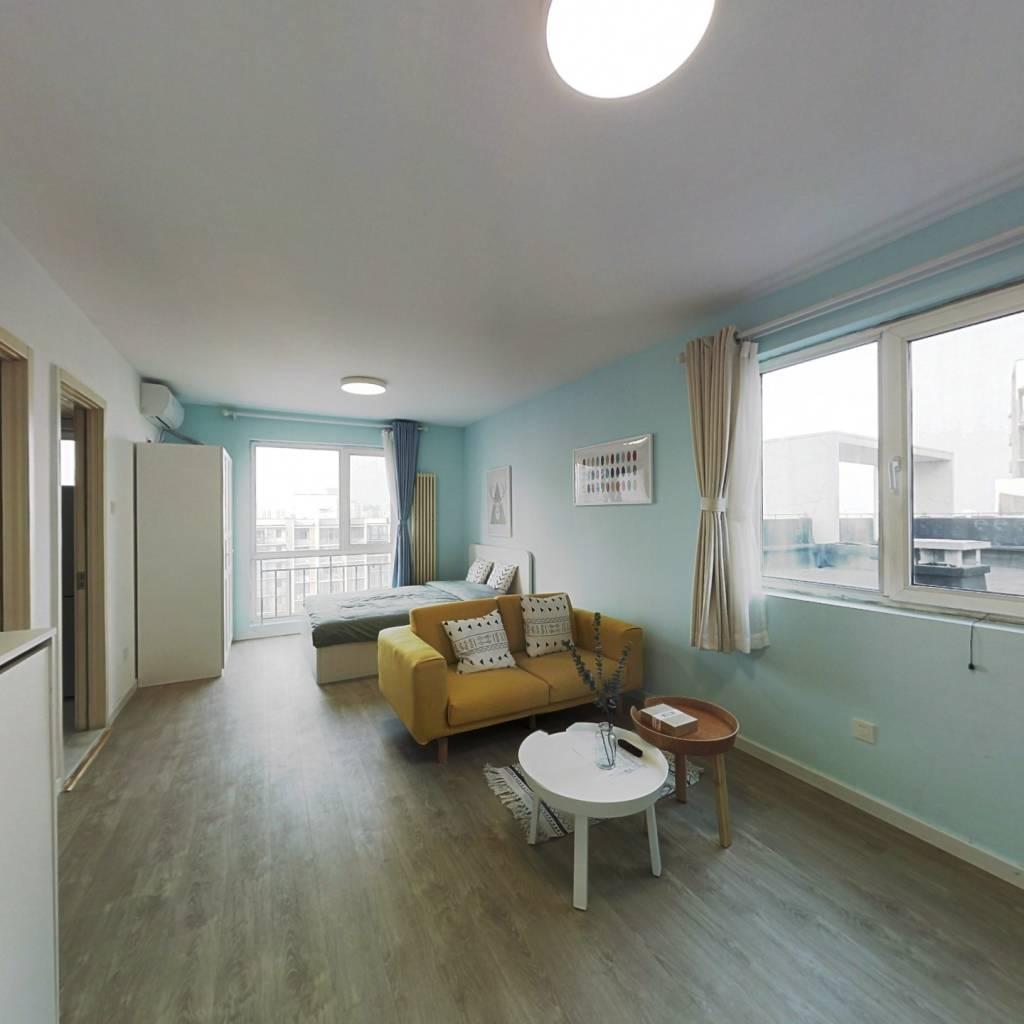 整租·后现代城A区 1室1厅 东北卧室图
