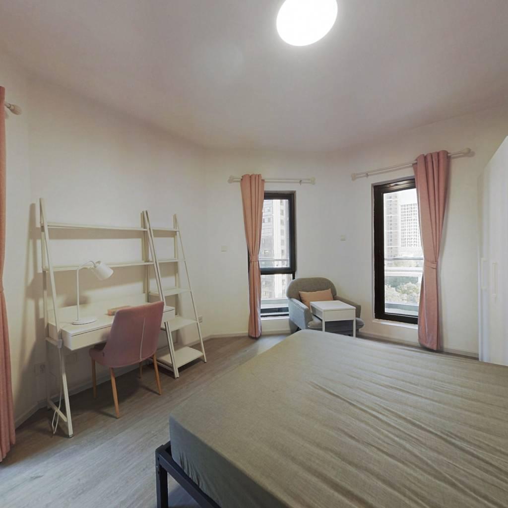 合租·中德·英伦世邦F区 5室1厅 北卧室图