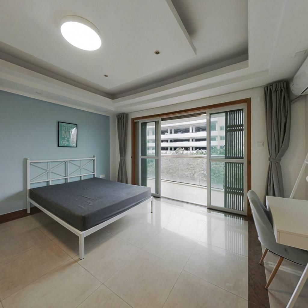合租·康裕北苑 4室1厅 西卧室图