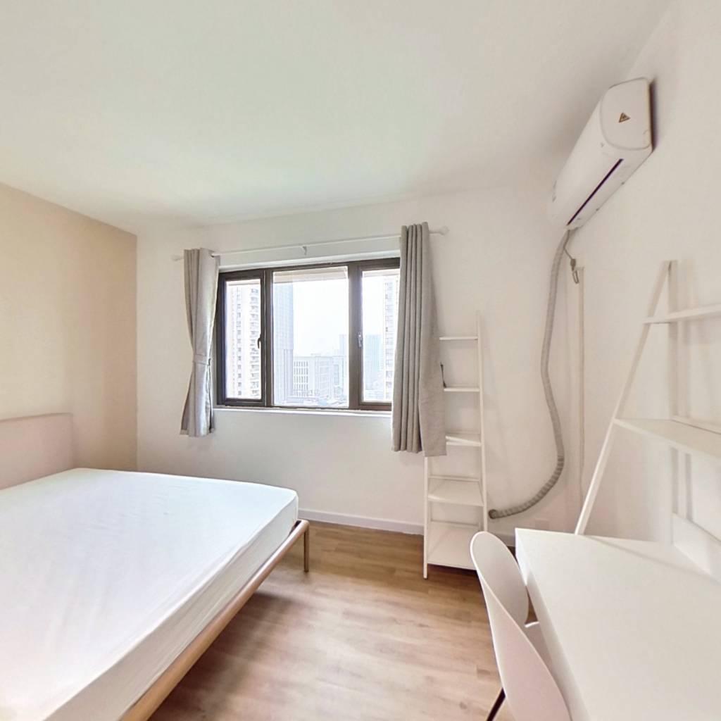 合租·金牛万达B组团 4室1厅 西卧室图