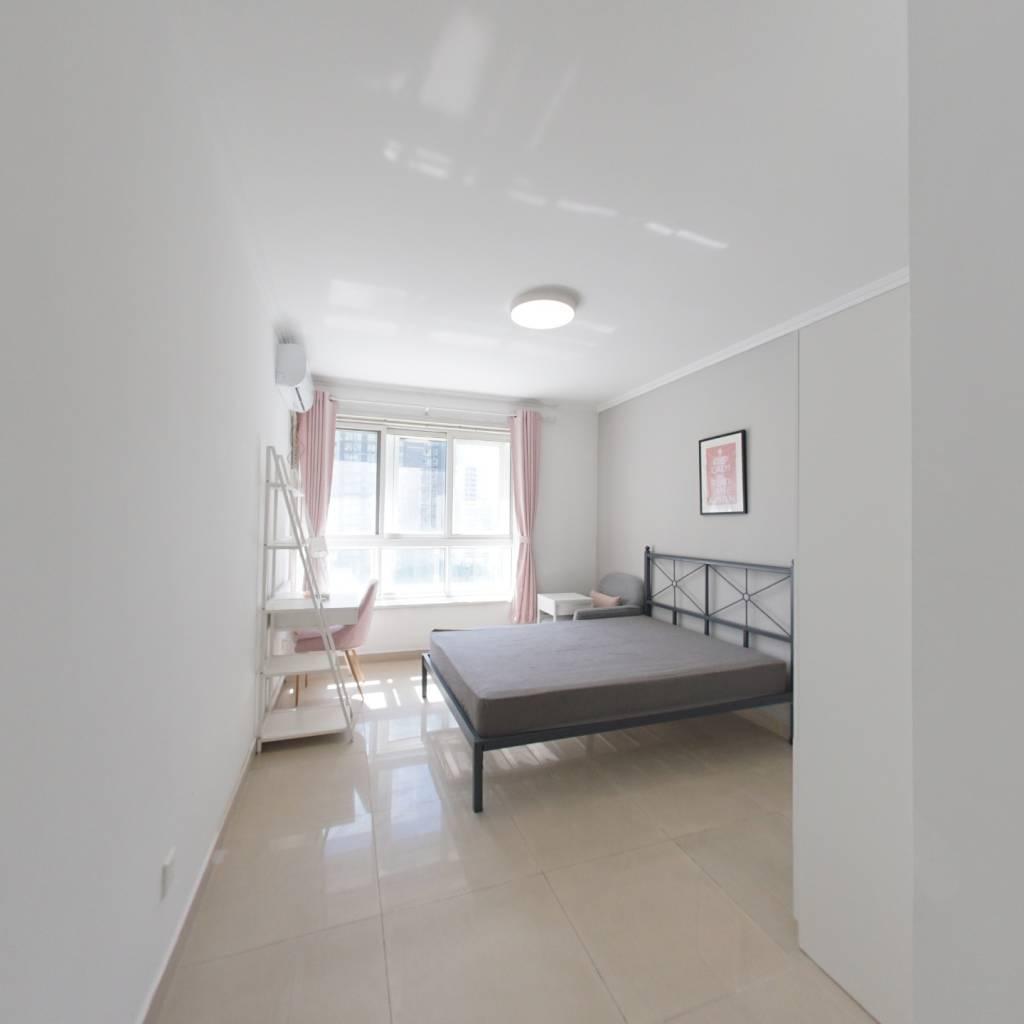 合租·国美第一城2号院 4室1厅 西南卧室图