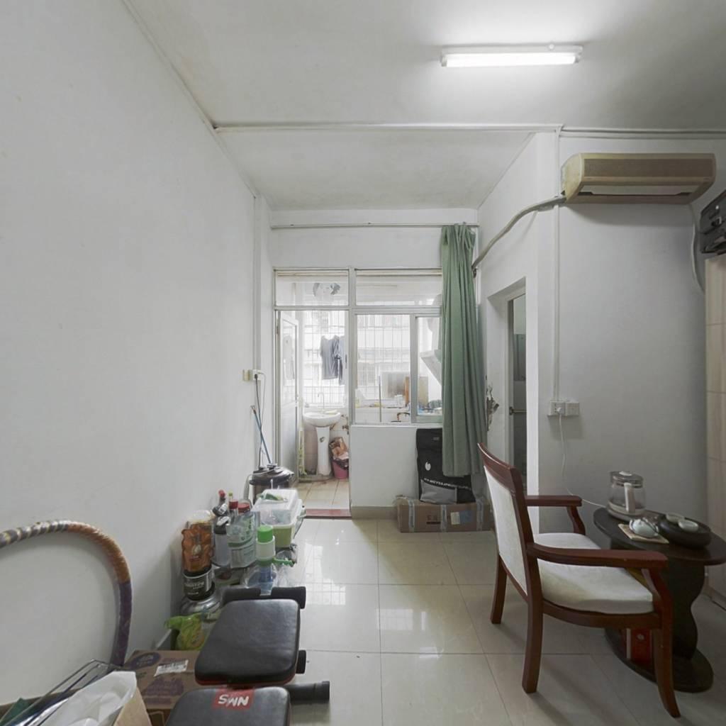此房满五唯一户型格局方正一房一厅无改动楼梯房带阳台