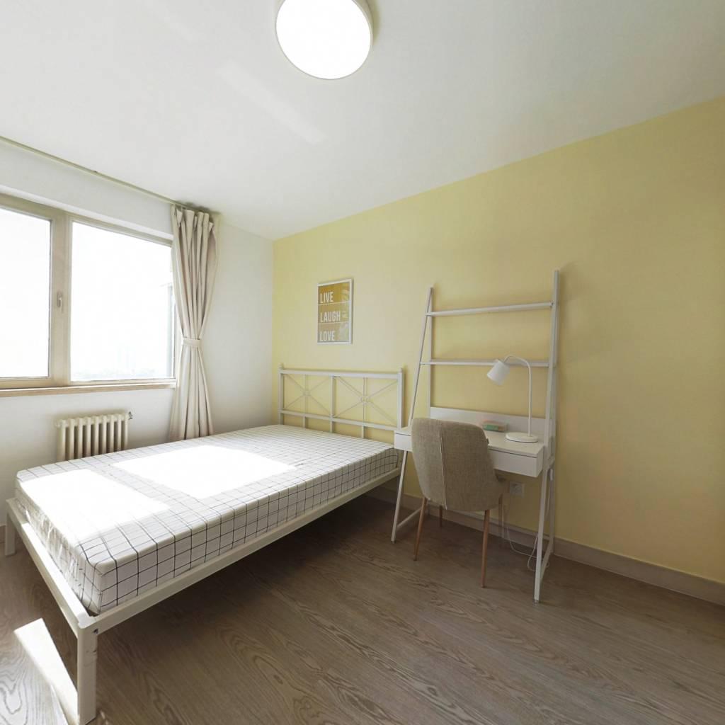 合租·怡海花园恒丰园 3室1厅 西南卧室图