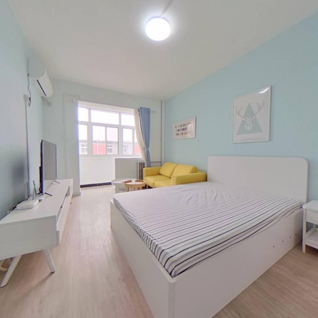 整租·新外大街28号院 2室1厅 南卧室图