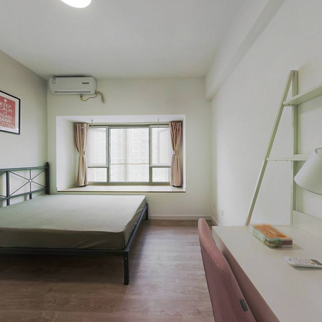 合租·南城都汇汇彩园 4室1厅 北卧室图
