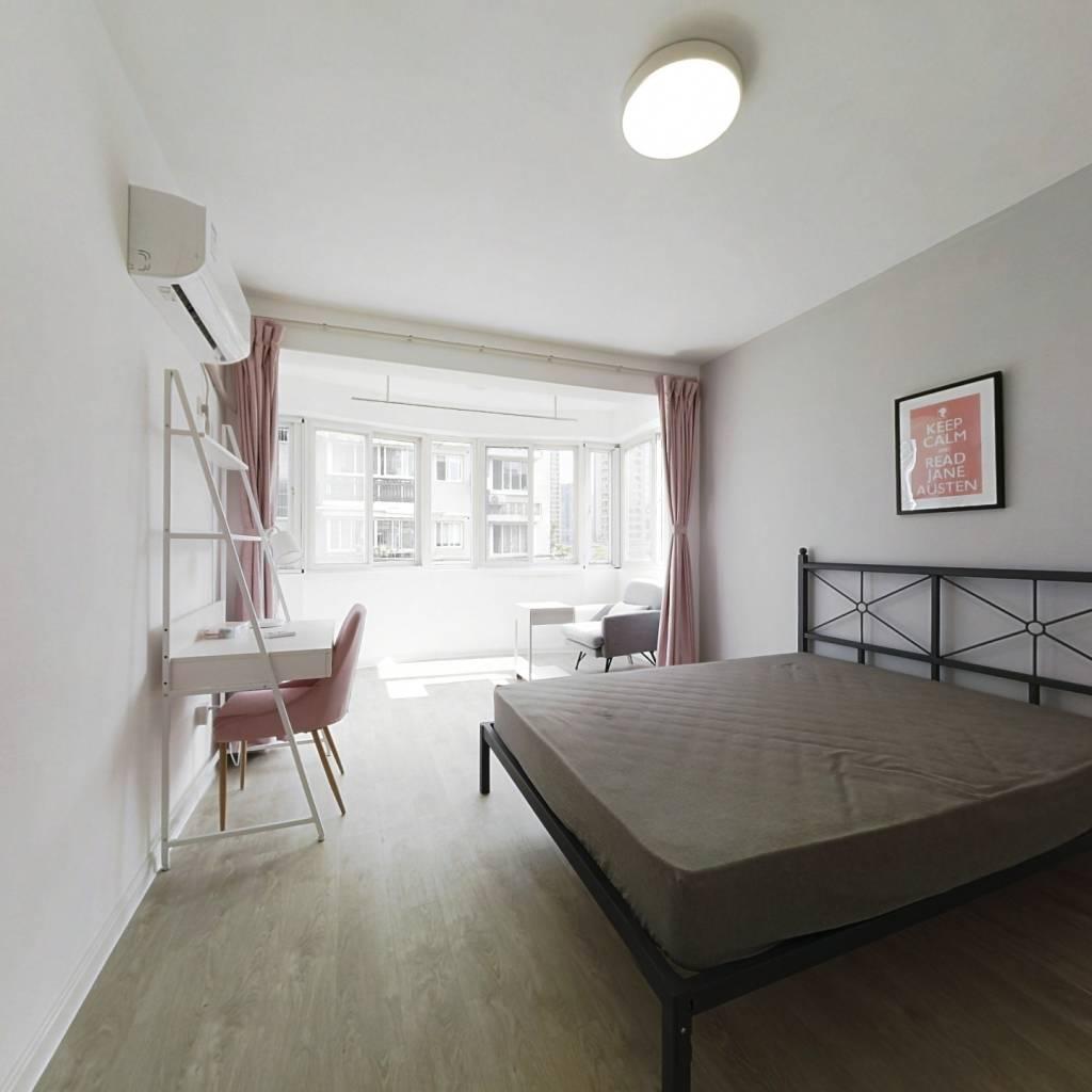 合租·紫荆家园 4室1厅 西卧室图