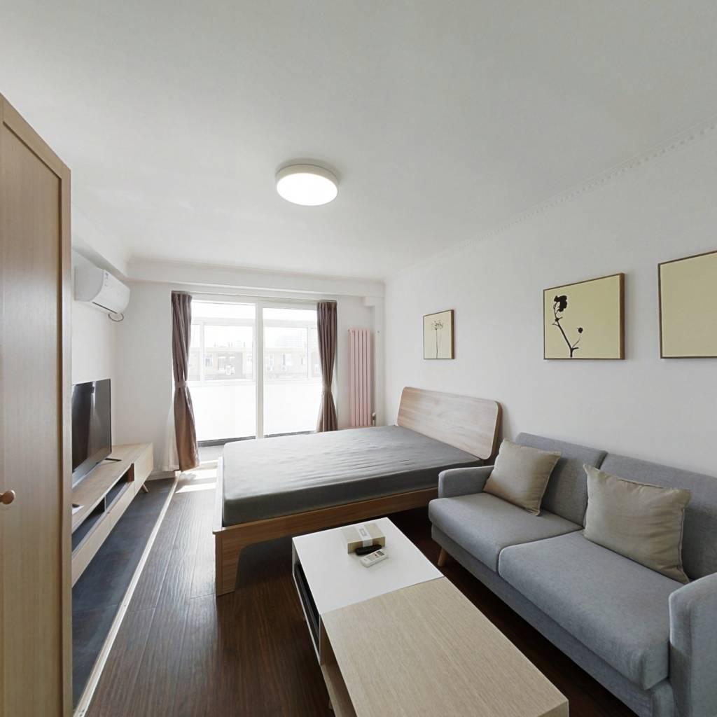 整租·农光里 1室1厅 南卧室图